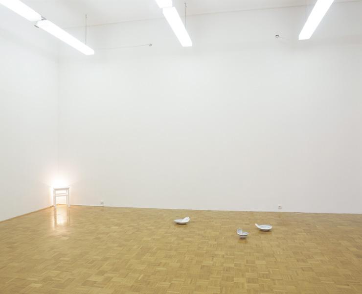Goran Petercol: After Reflections, exhibition view, Galerija Gregor Podnar, Ljubljana, 2007