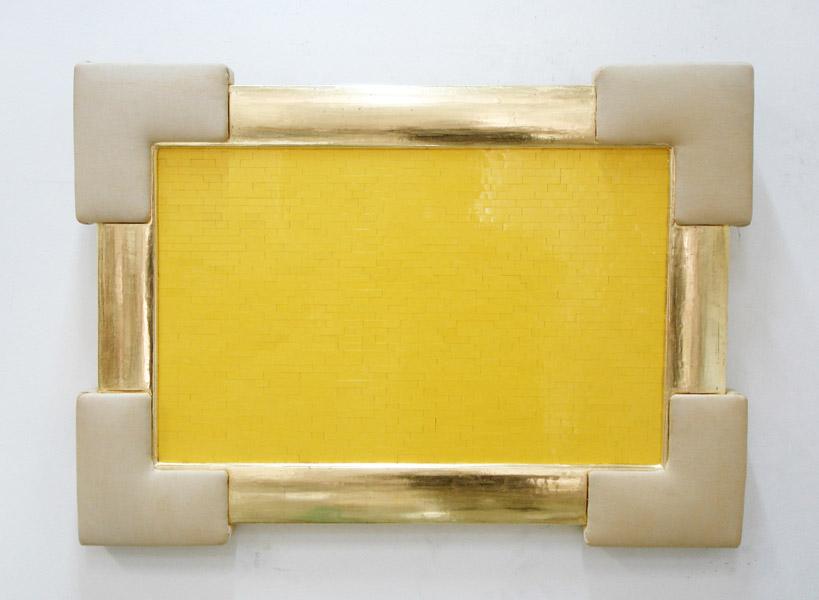 Irwin (Miran Mohar): Yellow Monochrome, exhibition view, Galerija Gregor Podnar, Ljubljana, 2007