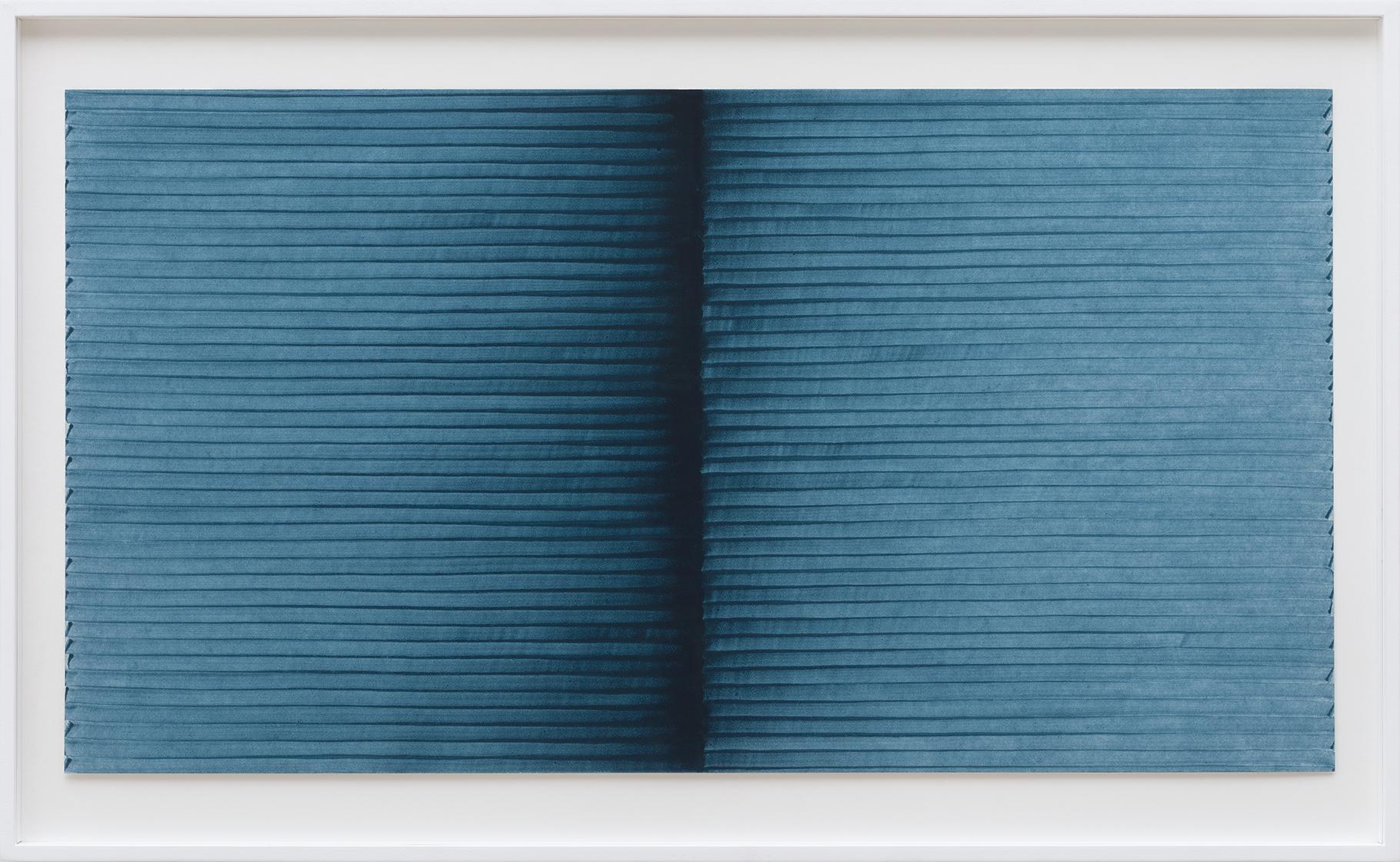 Radical Writings, Exercitium IV, oil on cardboard, 34.5 x 64 cm, 1993