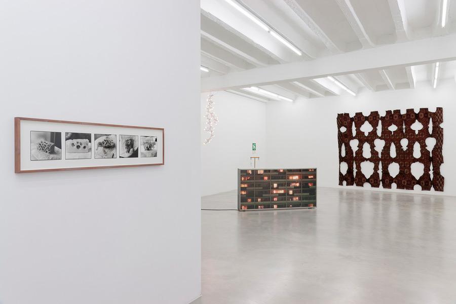 September Show, exhibition view, Galerija Gregor Podnar, Berlin, 2014. Photo: Marcus Schneider