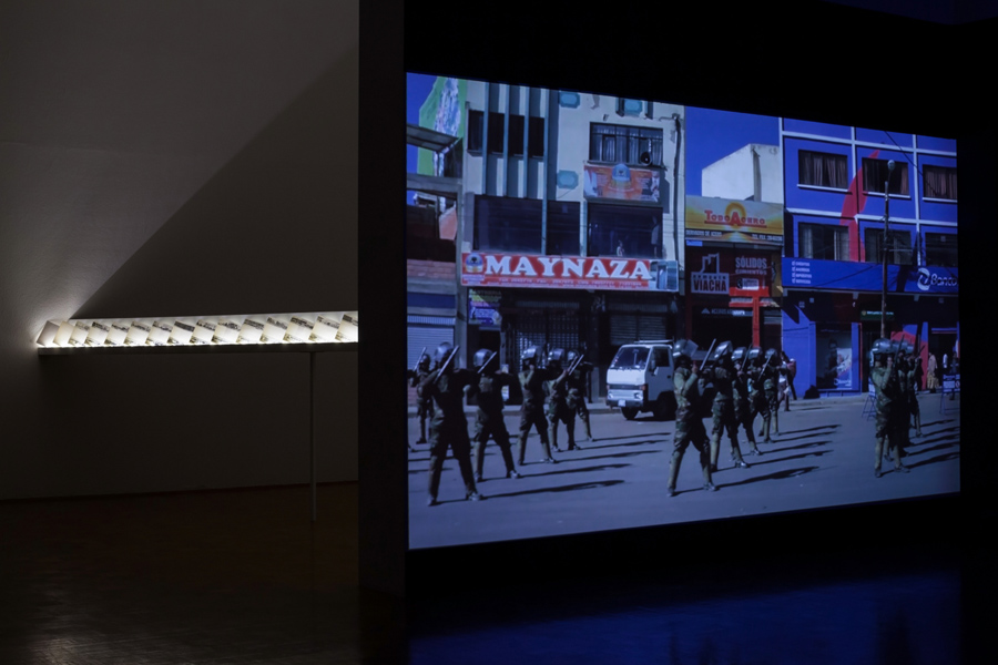 What If Time Stood Still?, exhibition view, Galerija Gregor Podnar, Ljubljana, 2014. Photo: Jaka Babnik