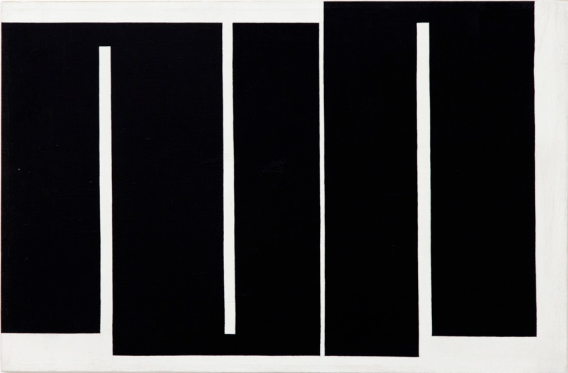 Meandar, oil on canvas, 72.5 x 47.7 cm, 1966