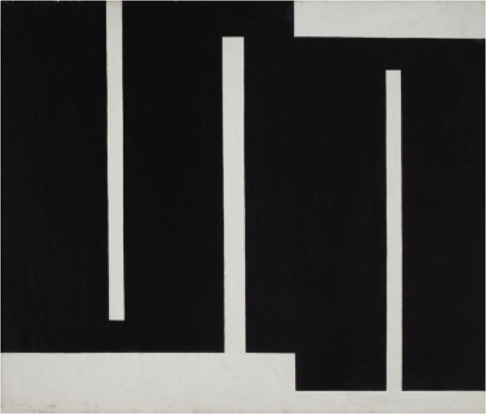 Untitled, oil on canvas, 65 x 77 cm, 1960 - 1961