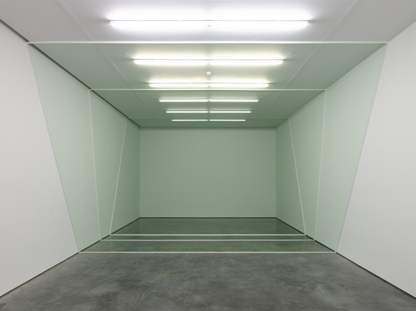 Three Sections, exhibition view, White Cube Gallery, London, 2013