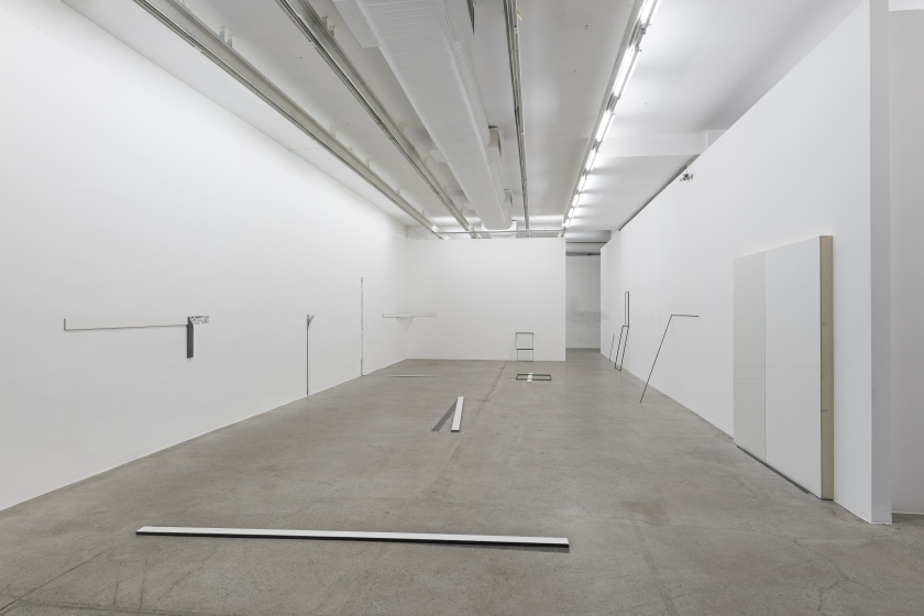 Planta/Corte, exhibition view, Galeria Luisa Strina, 2015