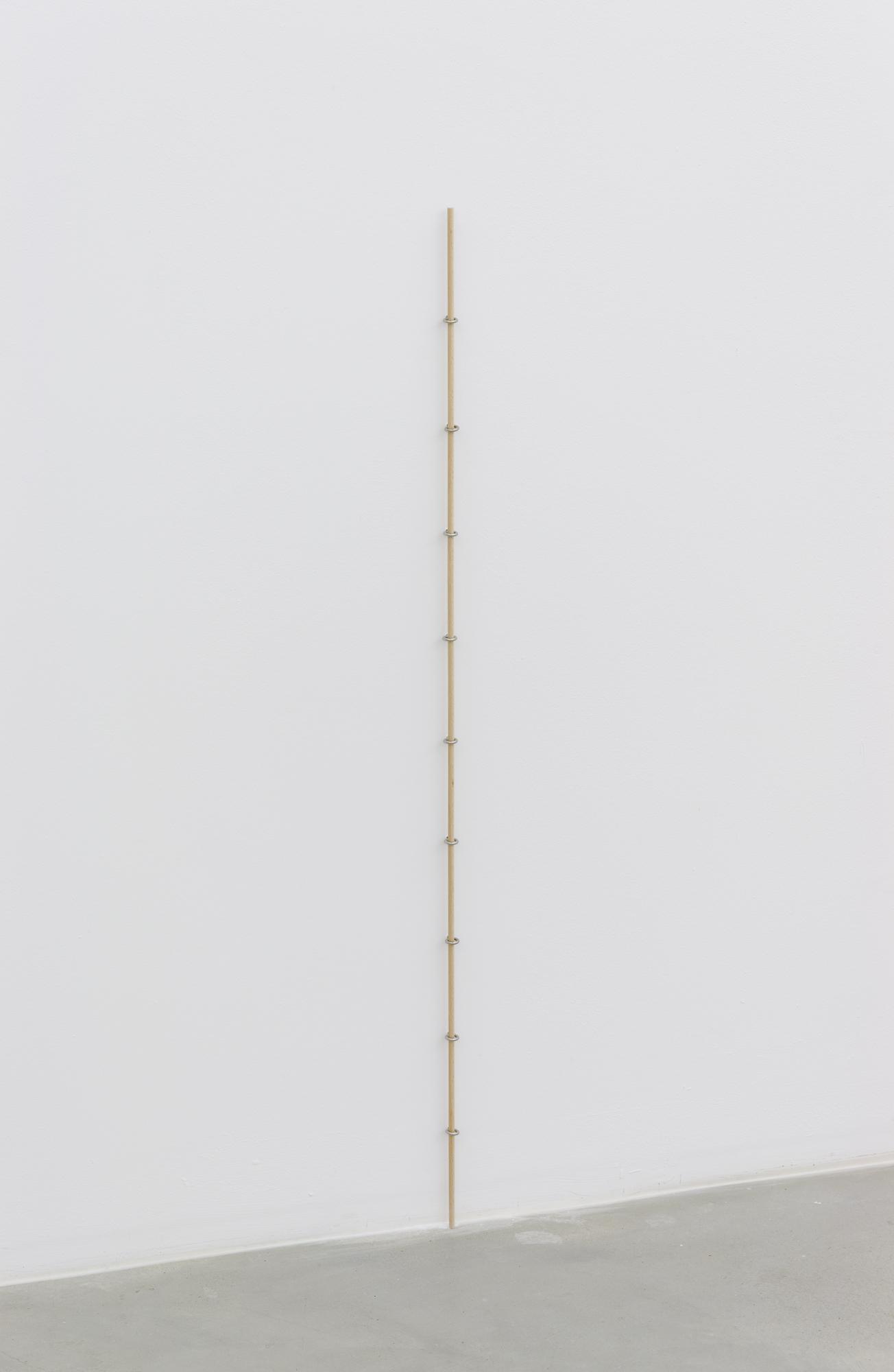 10 cm, wooden rod, screw hooks, 100 cm x 1.5, 2015