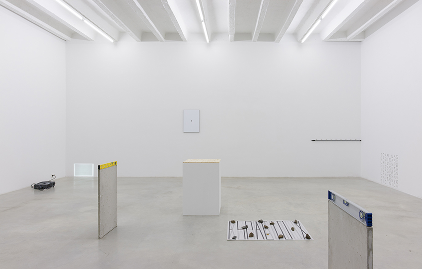 Exhibition view at Galerija Gregor Podnar, 2016