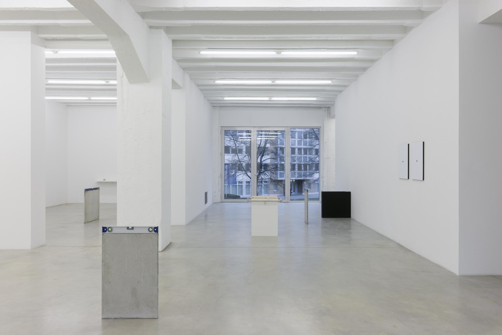 Pablo Accinelli, Técnicas Pasivas, exhibition view, Galerija Gregor Podnar, Berlin, 2016. Photo: Marcus Schneider