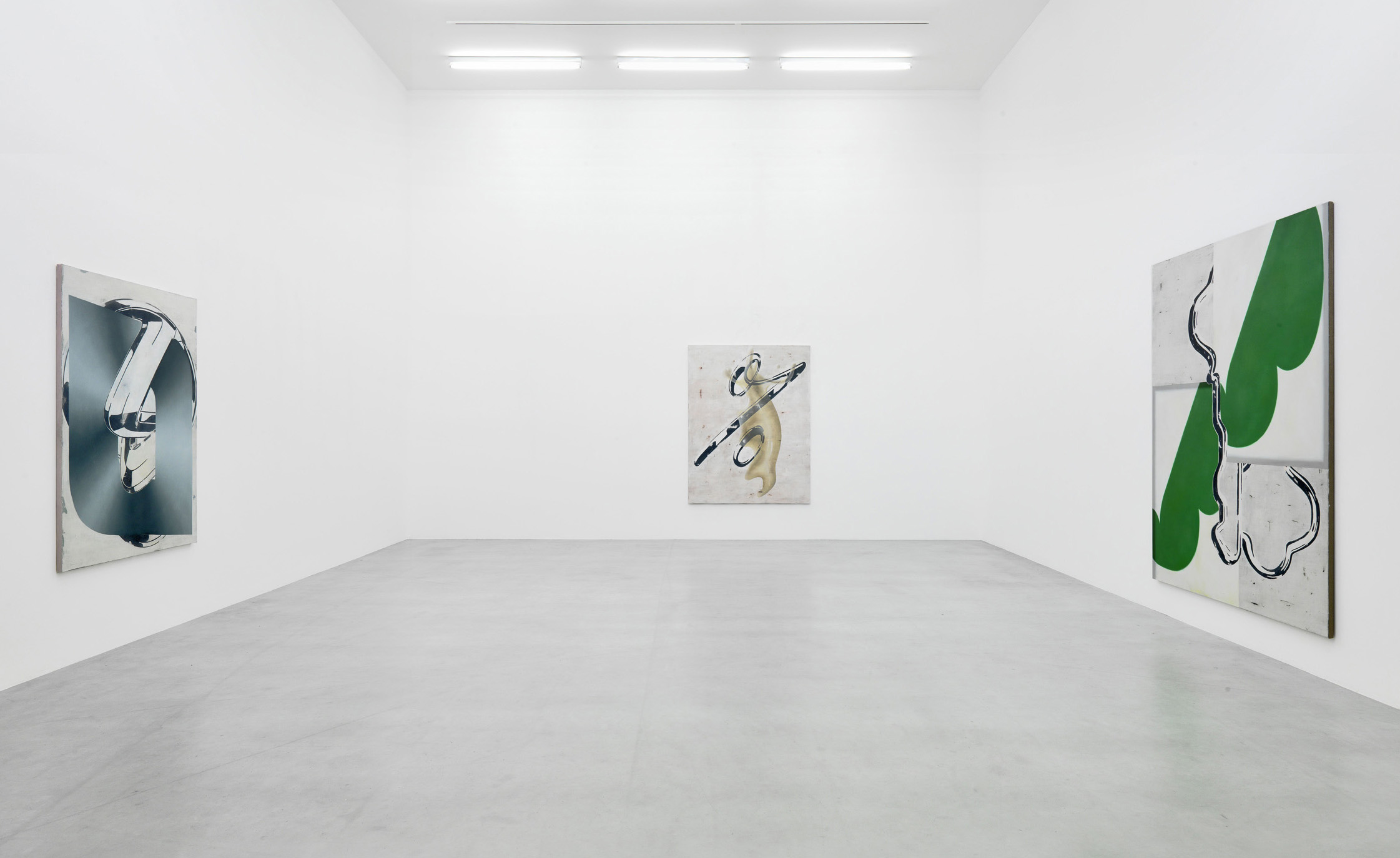 Exhibition view at Oldenburger Kunstverein, Oldenburg, 2013. Photo: Roman März