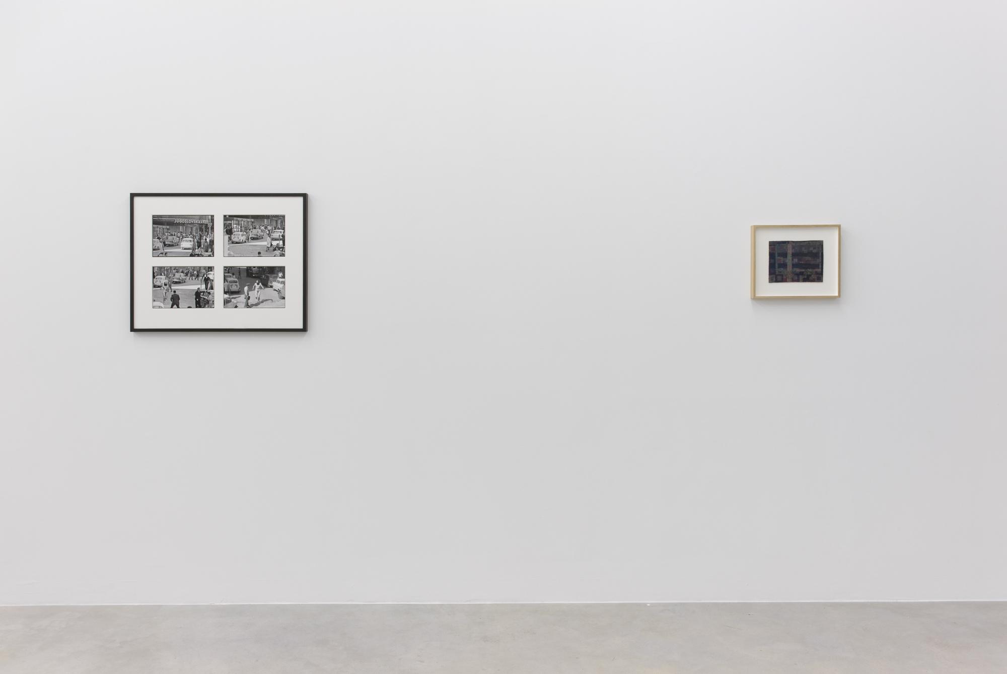 Exhibition view, Galerija Gregor Podnar, Berlin, 2016. Photo: Marcus Schneider