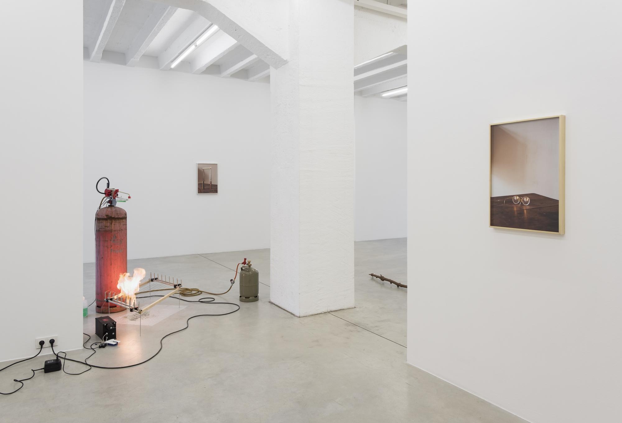 Ariel Schlesinger, Elvira, exhibition view, Galerija Gregor Podnar, Berlin 2017. Photo: Marcus Schneider