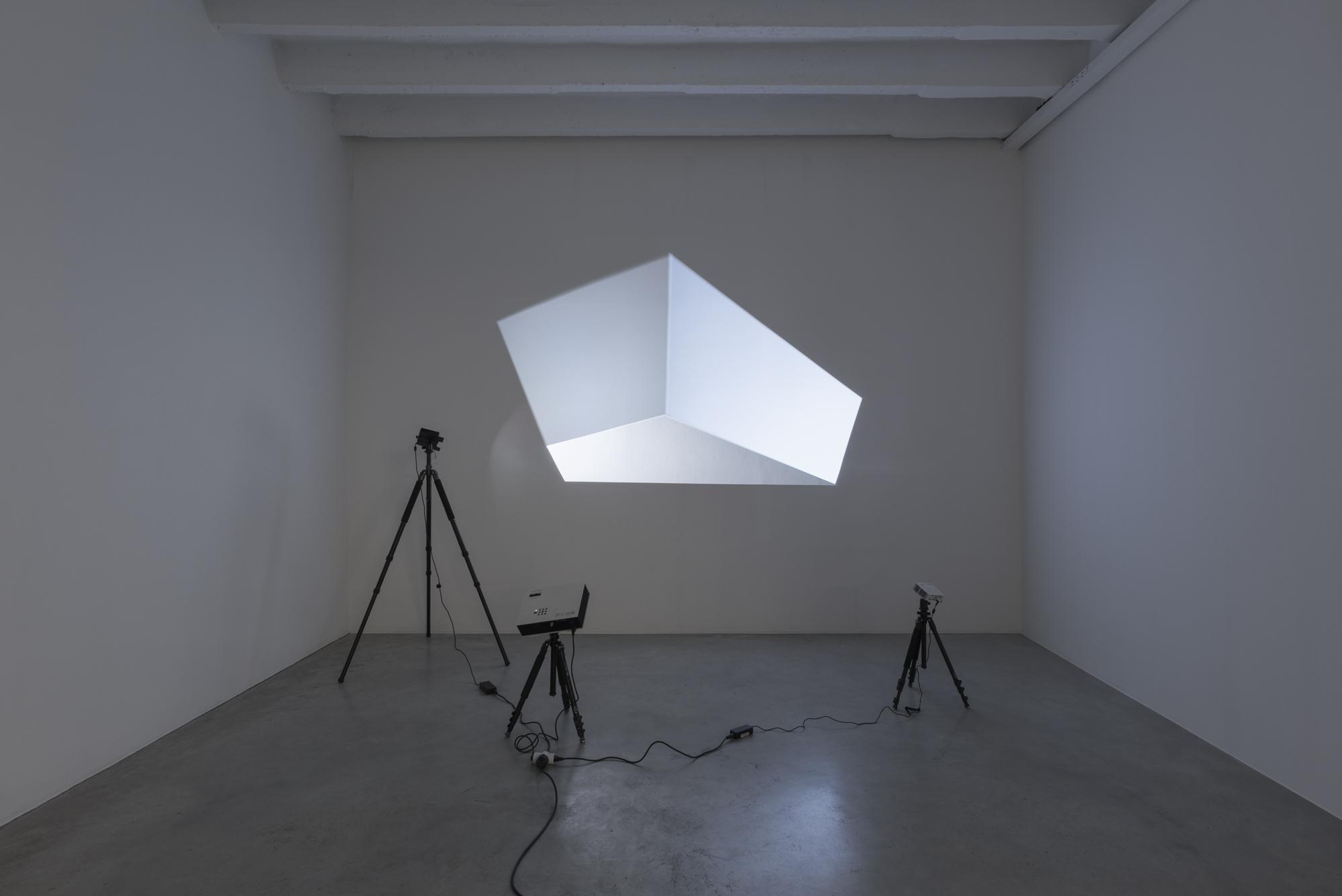 Vadim FISHKIN, Solidarity 3D, 2015, 3 projectors, 3 tripods, variable dimensions