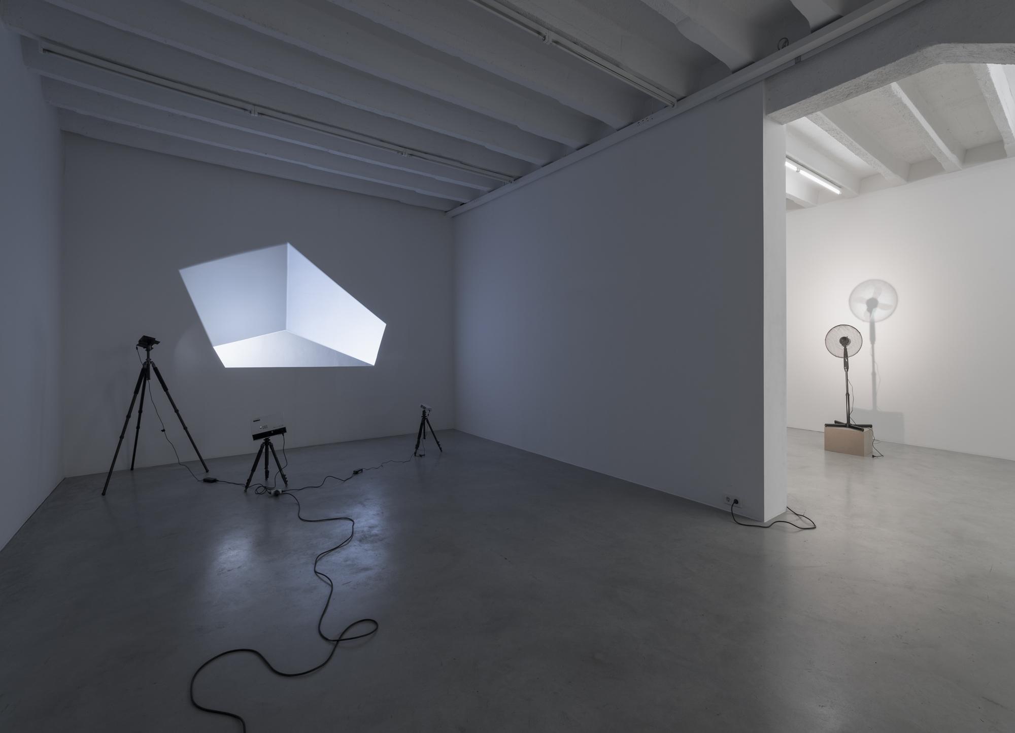 Vadim FISHKIN, Light Solidarity, exhibition view, Galerija Gregor Podnar, Berlin 2017. Photo: Marcus Schneider