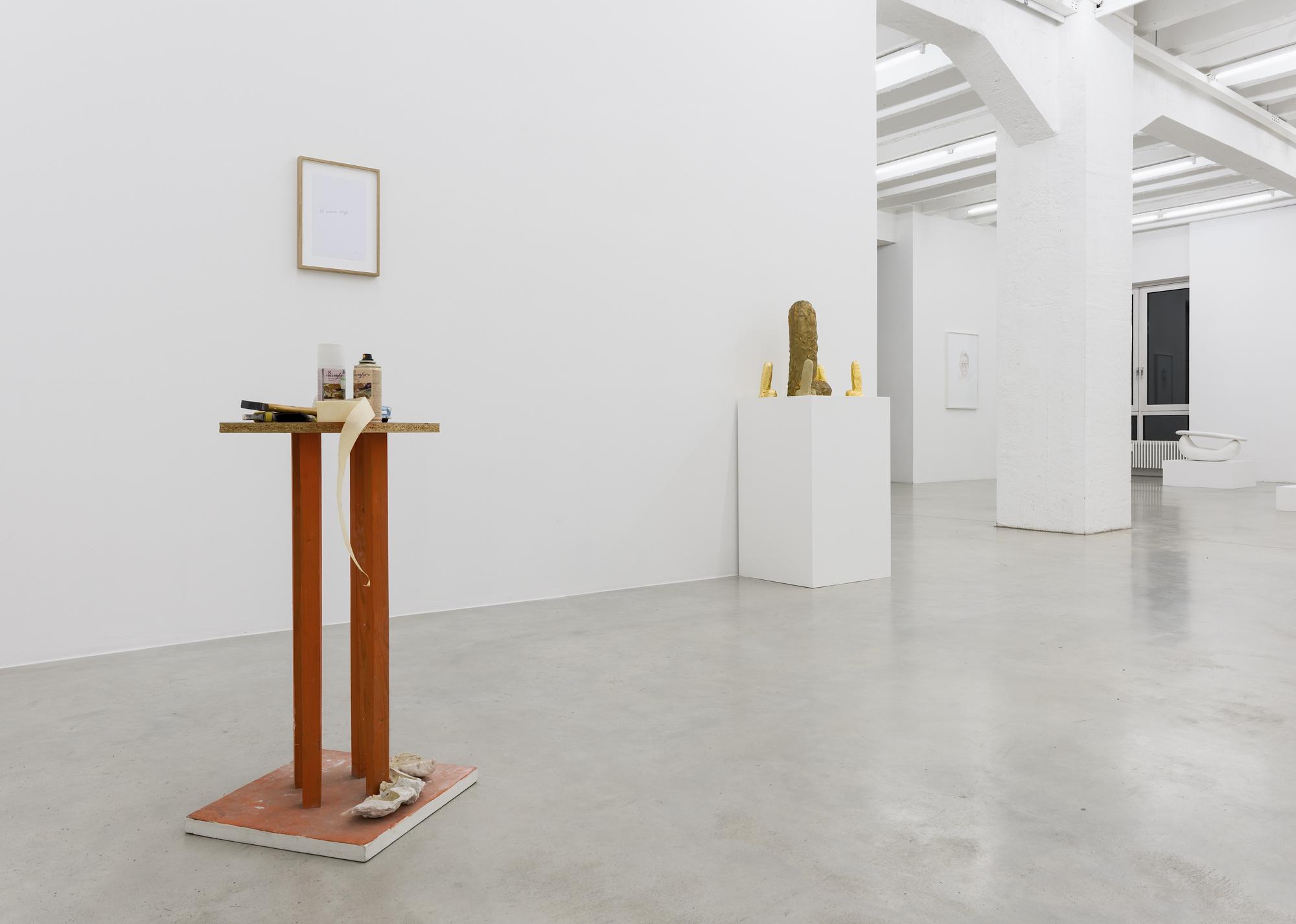 Ivan Kožarić, Shapes of Space, exhibition view, Galerija Gregor Podnar, Berlin, 2017. Photo: Marcus Schneider