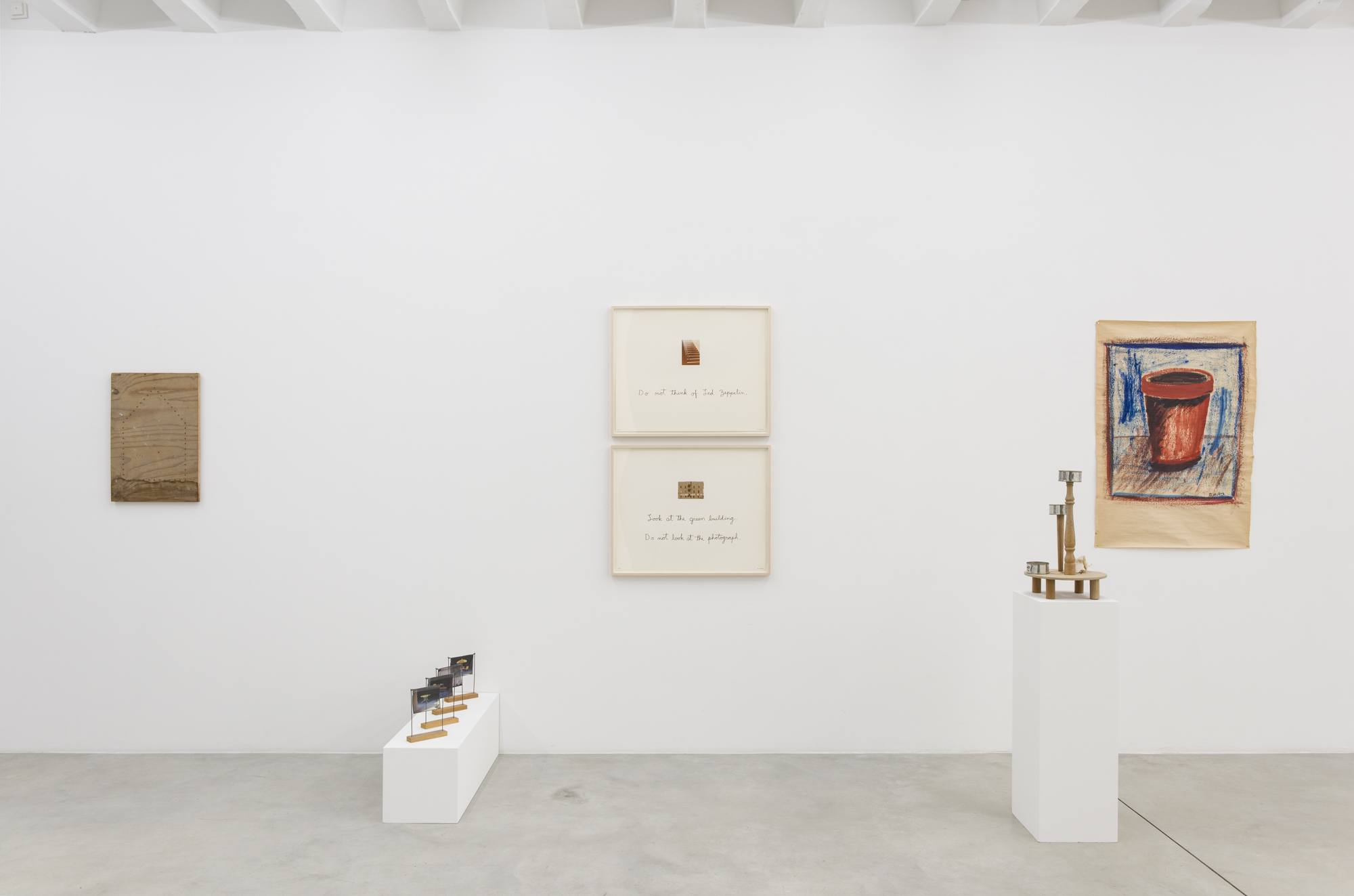 B. Wurtz, The First Twenty Years, exhibition view, Galerija Gregor Podnar, Berlin, 2018. Photo: Marcus Schneider