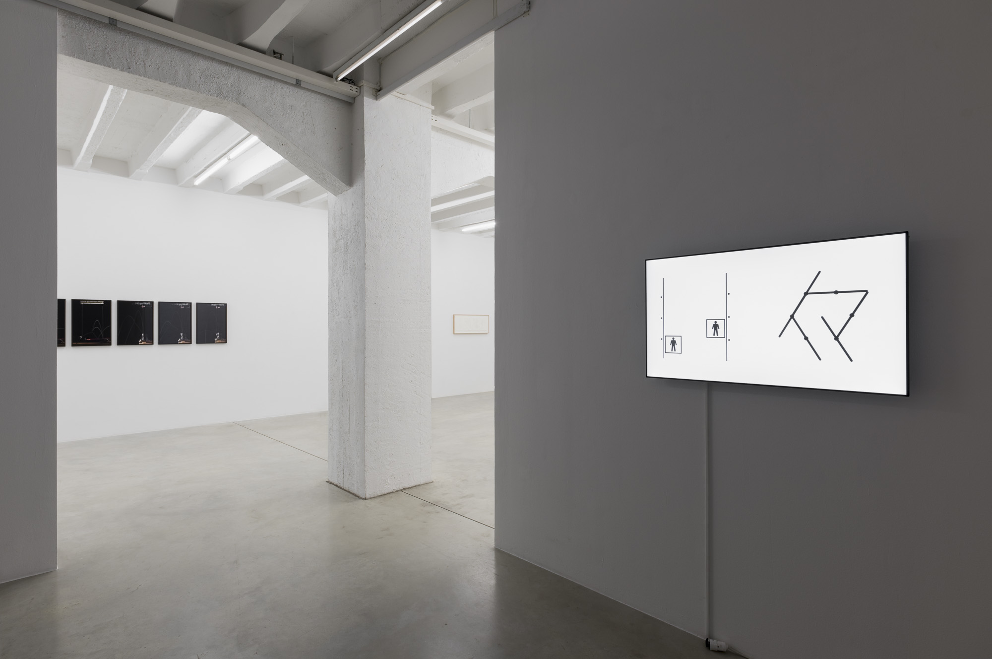 Attila Csörgő, Ursuppe, exhibition view, Gregor Podnar, Berlin, 2018. Photo: Marcus Schneider
