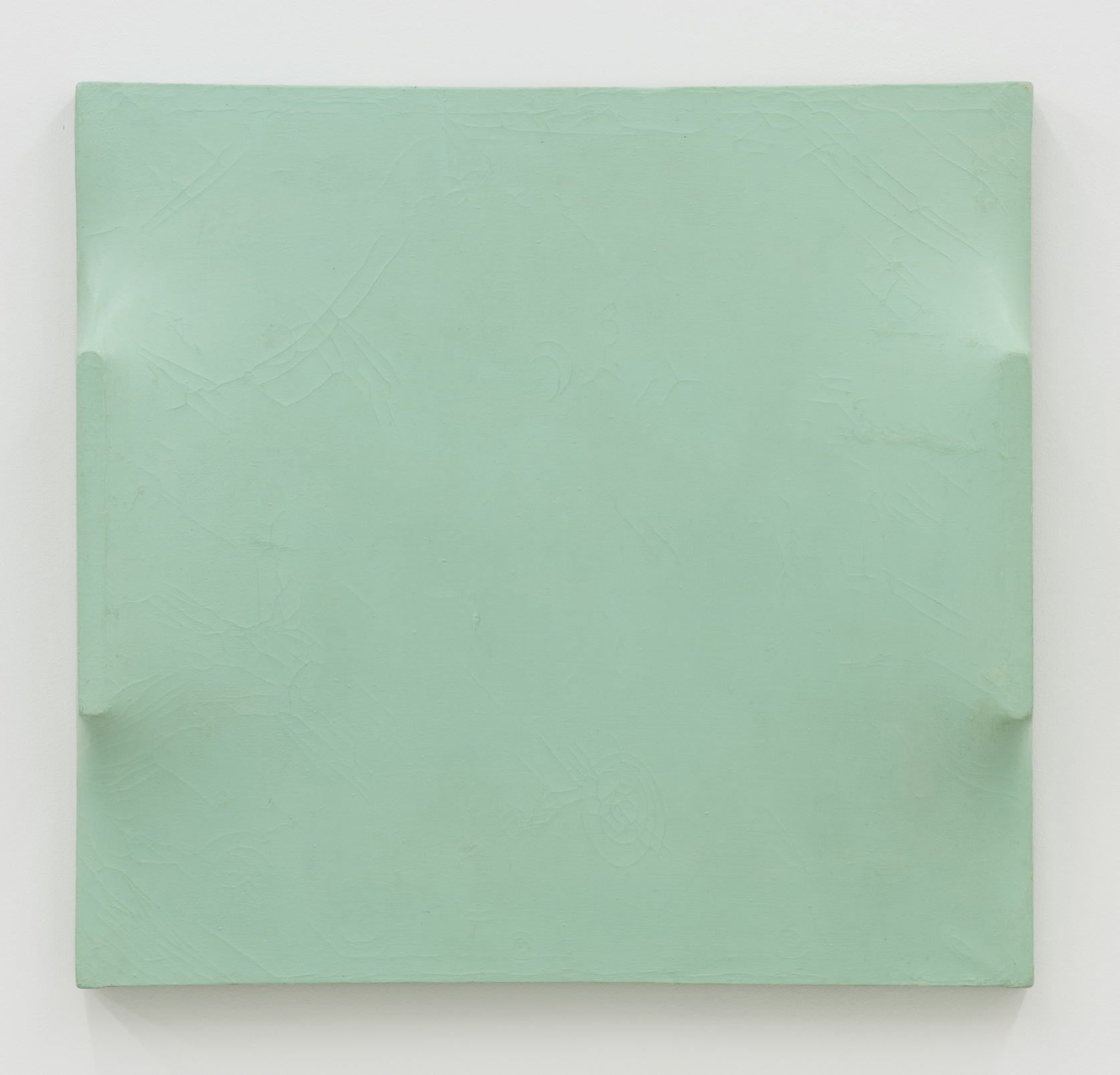 Ferenc Ficzek, Untitled, 1972, oil on fibreboard and formed canvas, 66 x 63 x 8,4 cm. Photo: Marcus Schneider