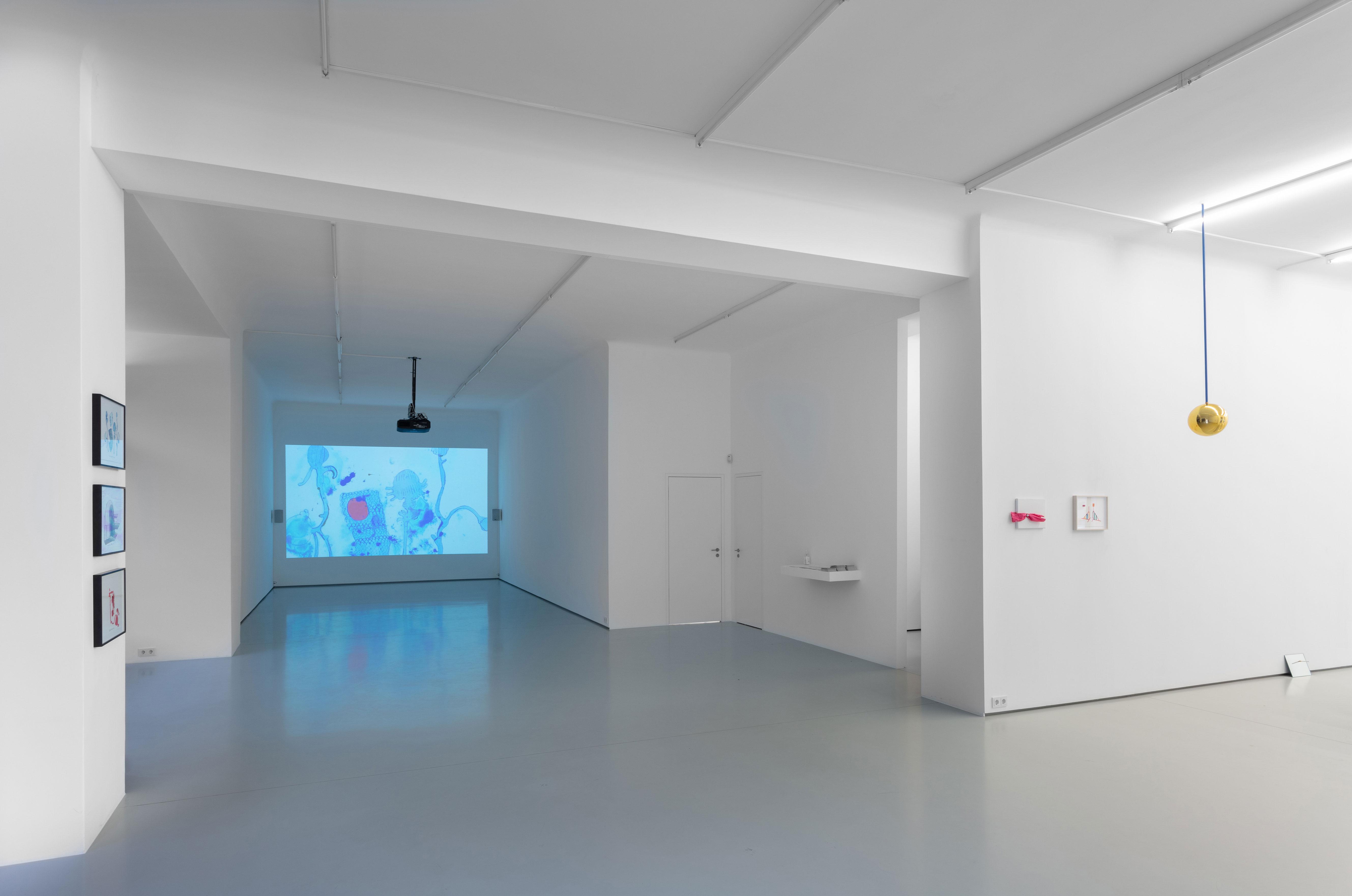 Christine Rebet, Shadows of Family Tree, exhibition view at Gregor Podnar, Berlin, 2020. Photo: Marjorie Brunet Plaza